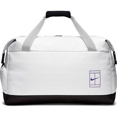 Nike Court Advantage Tennis Duffel Bag - White/Black/Rush Violet