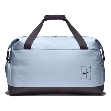 Nike Court Advantage Tennis Duffel Bag - Half Blue/Oil Grey