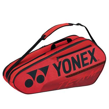 Yonex Team 2021 6 Pack Tennis Bag - Red