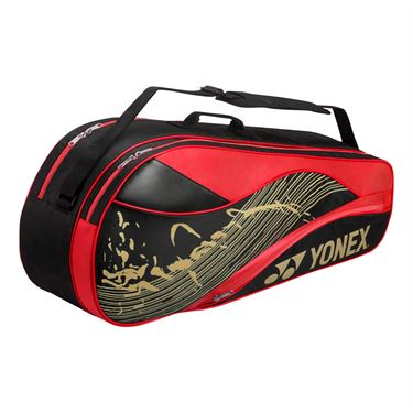 Yonex Team Series 6 Pack Tennis Bag - Black