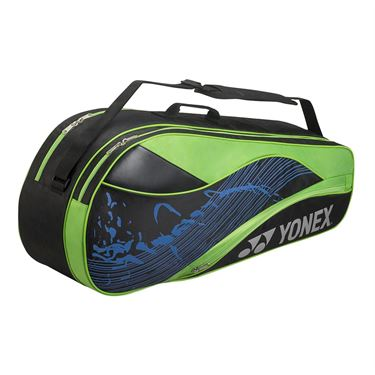 Yonex Team Series 6 Pack Tennis Bag - Black/Lime