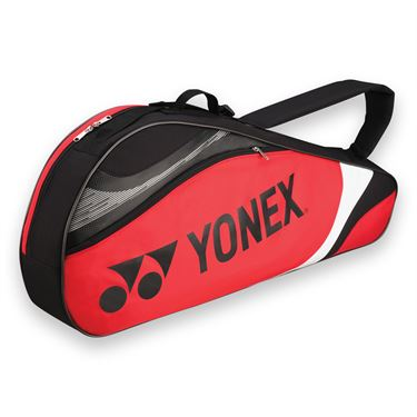 Yonex Tournament Basic Red/Black Triple Tennis Bag