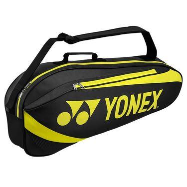 Yonex Active 3 Pack Tennis Bag - Black/Lime