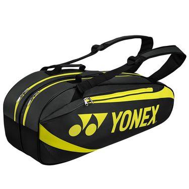 Yonex Active 6 Pack Tennis Bag - Black/Lime