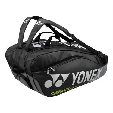 Yonex Pro Series 9 Pack Tennis Bag - Black