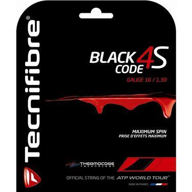 Tecnifibre Black Code 4S 16G Tennis String