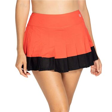 Eleven Bold Border Flutter 13 inch Skirt Womens Hibiscus BD5166 604