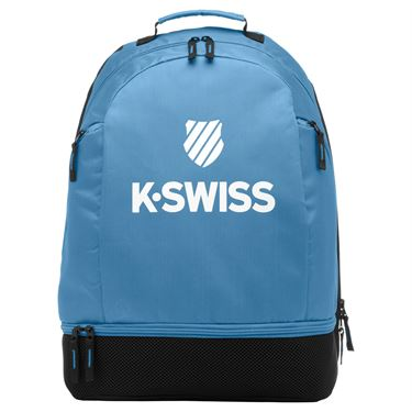 K-Swiss Tennis Backpack - Sky Blue/White