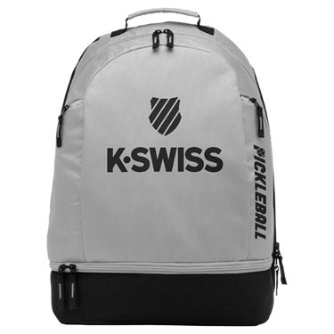 K-Swiss Pickleball Backpack - Grey/Black