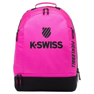 K-Swiss Pickleball Backpack - Pink/Black
