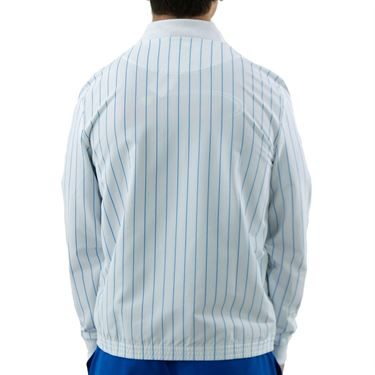 Lacoste SPORT x Novak Djokovic Striped Teddy Jacket