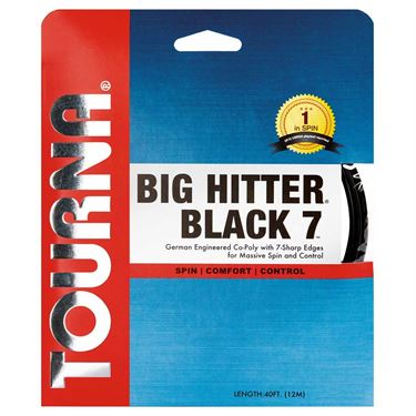 Tourna Big Hitter Black 7 16 Tennis String