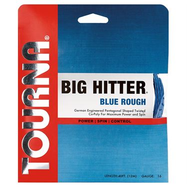 Tourna Big Hitter Blue Rough 17G Tennis String