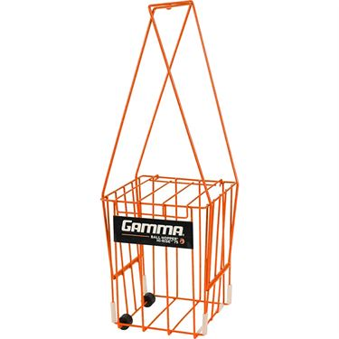 Gamma Hi Rise 75 Ball Hopper w/ Wheels - Orange