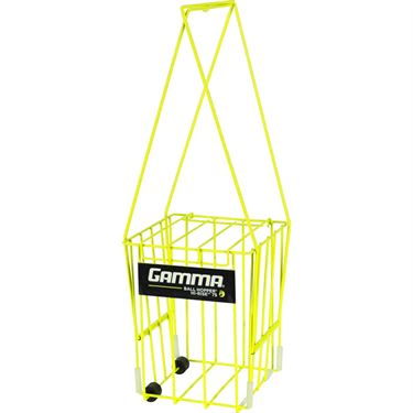 Gamma Hi Rise 75 Ball Hopper w/ Wheels - Yellow