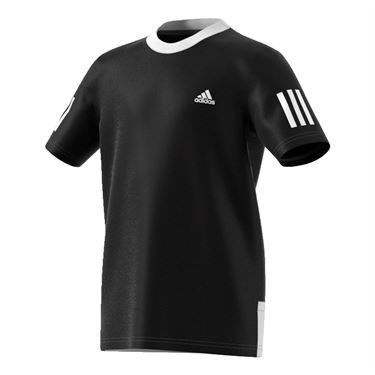 adidas Boys Club Crew - Black/White