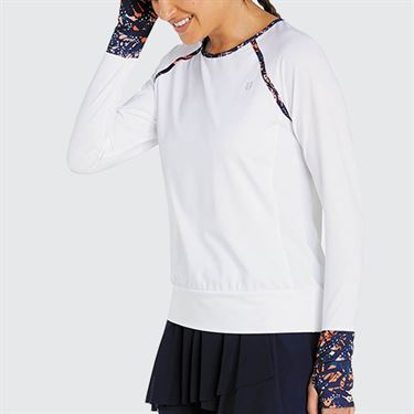 Eleven Bonita Traverse Long Sleeve Top - White