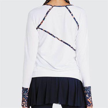 Eleven Bonita Traverse Long Sleeve Top - White