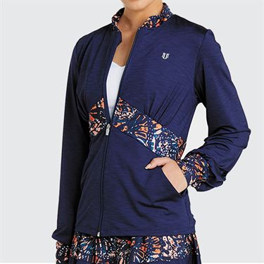 Eleven Bonita Empire Blocked Jacket - Blue Nights