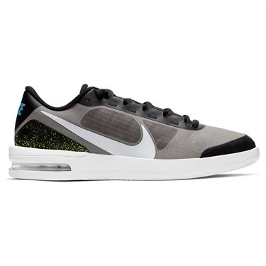 Nike Court Air Max Vapor Wing Mens Tennis Shoe Black/White/Neo Turquoise/Hot Lime BQ0129 002