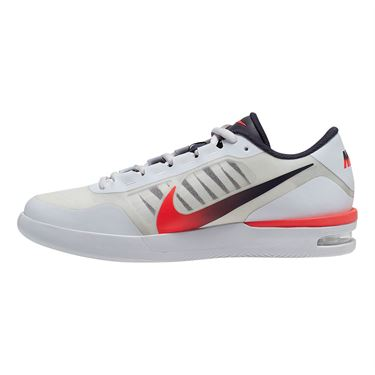 Nike Court Air Max Vapor Wing Mens Tennis Shoe White/Laser Crimson/Gridiron BQ0129 100
