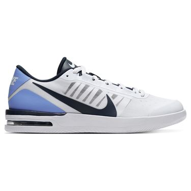 Nike Court Air Max Vapor Wing Mens Tennis Shoe White/Obsidian/Royal Pulse BQ0129 106