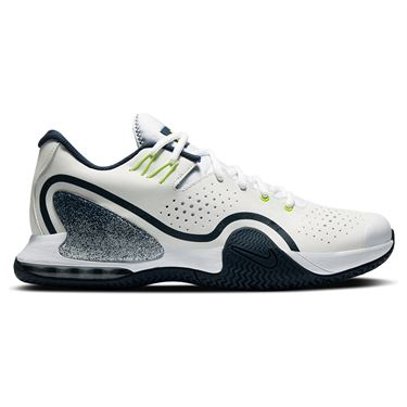 Nike Court Tech Challenge 20 Mens Tennis Shoe - Navy/Hot Lime