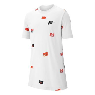 Nike Boys Sportswear Crew - White
