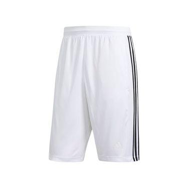 adidas D2M 3-Stripes Short - White/Black