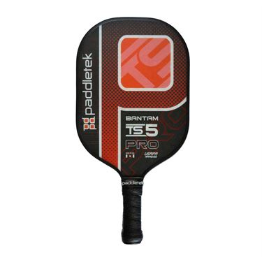 Paddletek Bantam TS-5 Pro Pickleball Paddle - Red