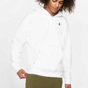 Nike Court Heritage Hoodie Mens White BV0760 100