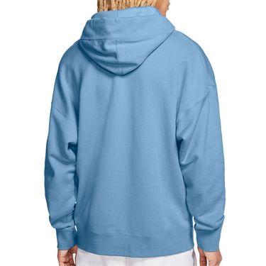 Nike Court Heritage Hoodie Mens Topaz Mist BV0760 449