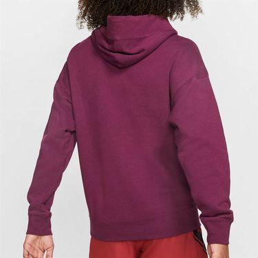 Nike Court Hoodie Mens Bordeaux BV0760 609