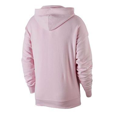 Nike Court Heritage Hoodie Mens Pink Foam BV0760 663
