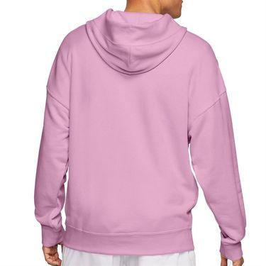 Nike Court Heritage Hoodie Mens Beyond Pink BV0760 680