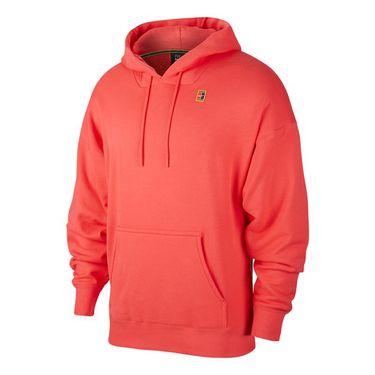 Nike Court Heritage Hoodie Mens Ember Glow BV0760 850