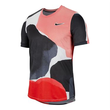 Nike Court Challenger Shirt Mens Gridiron/White/Off Noir BV0787 015
