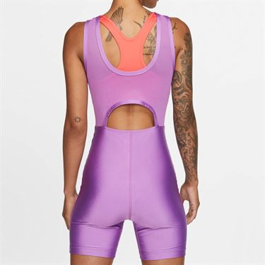 Nike Court Body Suit Womens Purple Nebula/Off Noir BV1063 532
