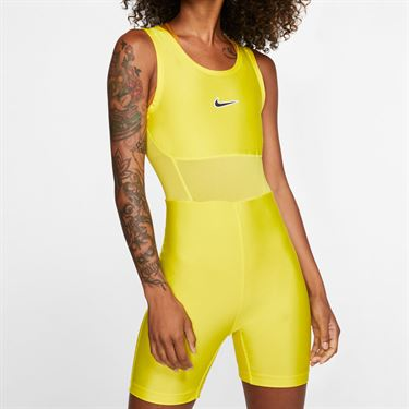Nike Court Body Suit Womens Opti Yellow/Off Noir BV1063 731