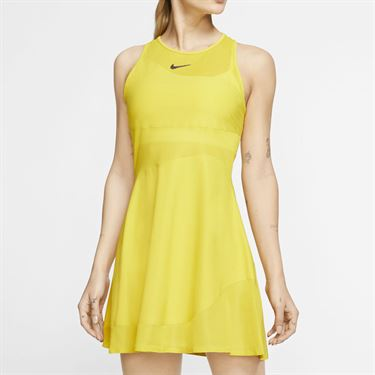 Nike Maria Dress Womens Bright Citron/Gridiron BV1066 733