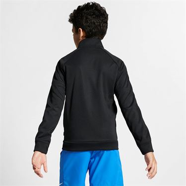 Nike Boys Warm up Jacket - Black/White