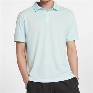 Nike Court Dry Pique Polo - Teal Tint
