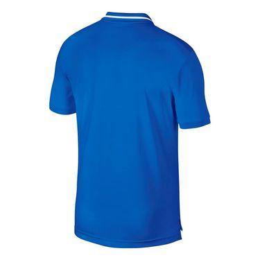 Nike Court Dry Pique Polo - Signal Blue