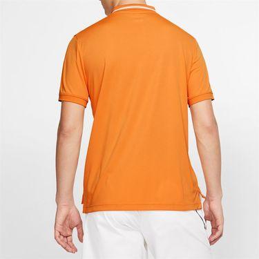 Nike Court Dry Pique Polo - Canyon Gold