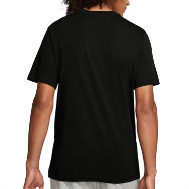 Nike Court Tee Shirt Mens Black/White BV5809 011