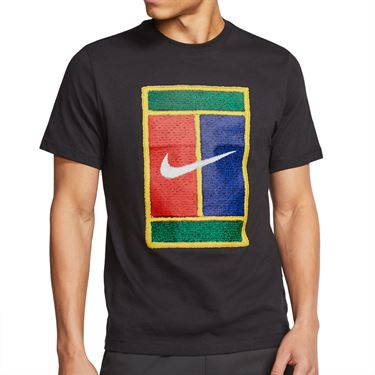 Nike Court Tee - Black