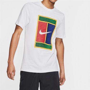Nike Court Tee - White