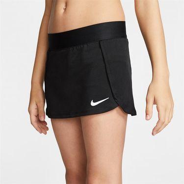 Nike Girls Court Skirt Black/White BV7391 010