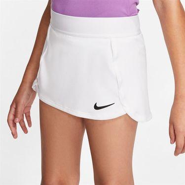 Nike Girls Court Skirt White/Black BV7391 100