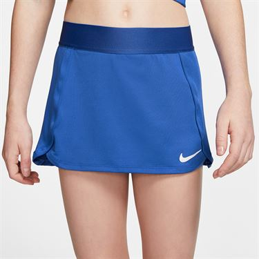 Nike Girls Court Skirt Game Royal/White BV7391 480